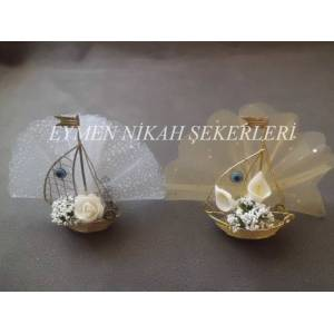 METAL GEM� N�K�H �EKER�  ( MODEL - 2 ) 2,00 TL.