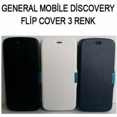 GENERAL MOBİLE DİSCOVERY KILIF FLİP COVER