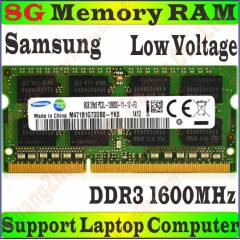 8 GB SAMSUNG 1600 (12800s) NOTEBOOK RAM