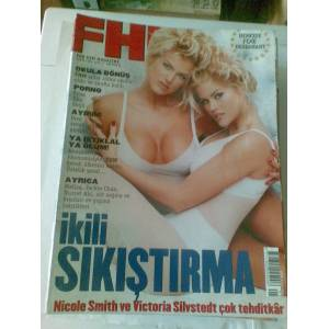 FHM*NICOLE SMITH VE VICTORIA SILVSTEDT POSTER�