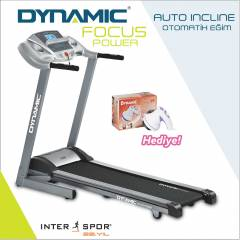 Dynamic Focus Power Otomatik Eğimli Koşu Bandı
