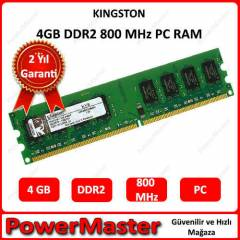KINGSTON 4GB DDR2 800 Mhz BOX -PC