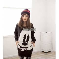 JAPON STYLE ELBİSE TARZI SWEAT MİCKEY MOUSE
