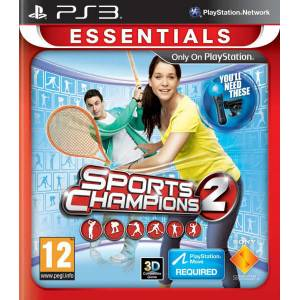 SPORTS CHAMPIONS 2 PS3 HD PAL SIFIR AMBALAJDA