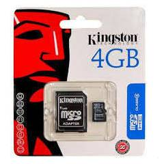 KINGSTON 4 GB MİCRO HAFIZA KARTI CLASS4