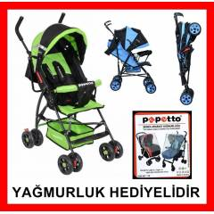 Papetto 1002 baston bebek arabası puset araba