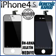APPLE iPHONE 4S EKRAN+DOKUNMATİK ORJİNAL