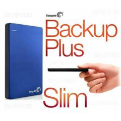 Seagate Backup Plus Slim 1TB MAVİ  STDR1000202