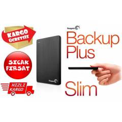 Seagate Backup Plus SLIM 1TB SİYAH STDR1000200