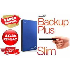 Seagate Backup Plus SLIM 2TB MAVİ STDR2000202