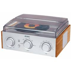 Jensen 3-Speed Stereo Turntable with AM/FM Stere