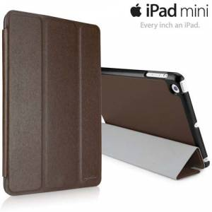 Apple iPad Mini Deri K�l�f Smart Cover