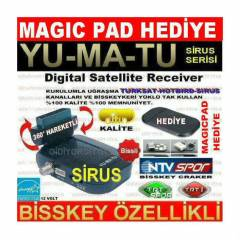YUMATU MULTİKİNG MİNİ UYDU ALICISI + MAGIC PAD