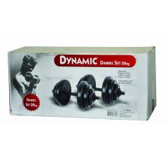 DYNAMIC 20 KG PVC DUMBEL SET
