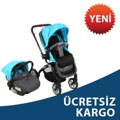 Kraft Twist Air Travel Sistem Bebek Arabası BLUE