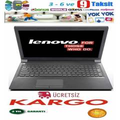 Lenovo Laptop İ3 4005U 4GB 500GB 1GB Vga Laptop
