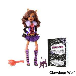 Monster High Acayip Haval� clawdeen wolf