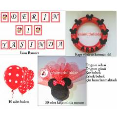 DO�UMG�N� PART�,BEBEK �EKER� ,M�CKEY MOUSE SET