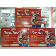 BREATHE RİGHT EXTRA 10 ADET BURUN BANDI 3 KUTU