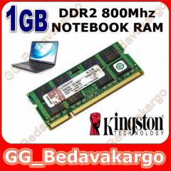 1GB DDR2 800 MHZ KINGSTON NOTEBOOK RAM