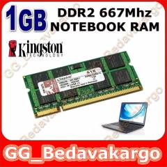 1GB DDR2 667 MHZ PC2 5300 NOTEBOOK RAM KINGSTON