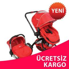 KRAFT TWİST RLX TRAVEL BEBEK PUSET KIRMIZI