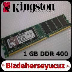 1 GB DDR 400 RAM Kingston PC3200 -2.El
