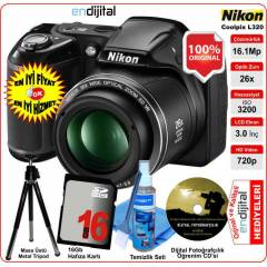 Nikon Coolpix L320 16.1 MP 26x Zoom