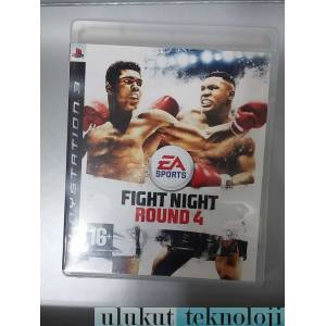 FIGHT NIGHT ROUND 4 PS3 BLU-RAYF�LMHED�YE