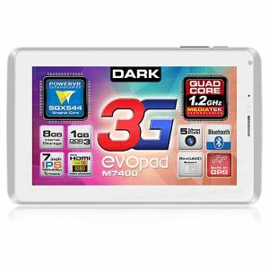 Dark EvoPad M7400 4 �EK�RDEK 3G Tablet (OUTLET)