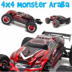 2.4Ghz 4x4 Monster Kumandalı Araba Pro
