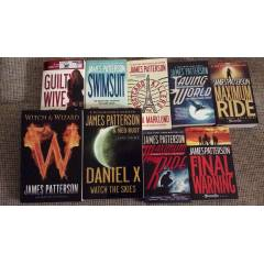 James Patterson 9 Books in English