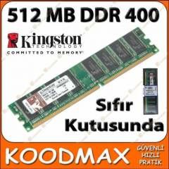 Kingston 512 MB PC3200 400Mhz DDR1 RAM