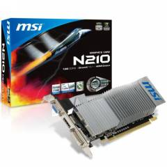 MSI N210-MD1GD3H/LP 1 GB 64Bit DDR3 16X