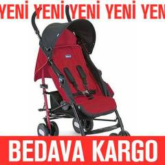 CHİCCO BASTON BEBEK ARABASI ECHO - GARNET