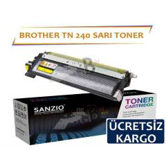 Brother Tn 240 Y Muadil Toner 3040/3070/9120