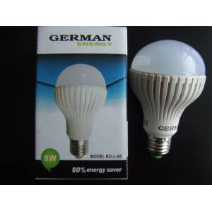 GERMAN ENERGY 8 WATT BEYAZ LED AMPUL I�IK 8W E27