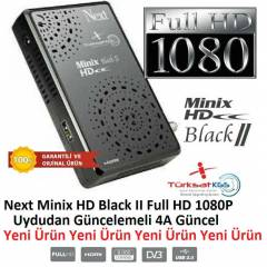 Next Minix HD Black II Full HD 1080 Uydu Alıcısı