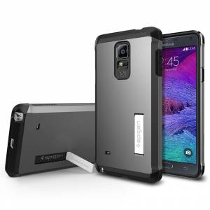 Spigen SAMSUNG Galaxy Note 4 KILIF Tough Armor