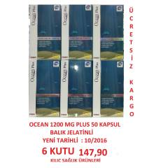 OCEAN PLUS 1200 MG 50 KAPSUL 6 KUTU