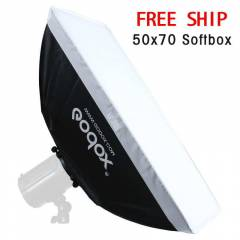 GODOX 50X70 FOTO STÜDYO SOFTBOX SOFT BOX YENİ!