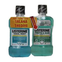 Listerine Cool Mint ve Teeth Gum Gargara 250 ml