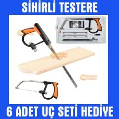 Magic Devil Saw Sihirli Kıl Testere Ucu Seti El
