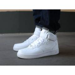 Nike Air FORCE 1 MID WHITE BAY VE BAYAN