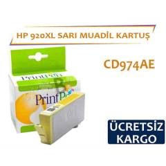 HP 920 XL Sar� Muadil Kartu� CD974AE