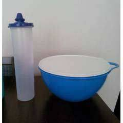 TUPPERWARE MİKSİM (4,5 LT) VE OVAL YAĞDANLIK SET
