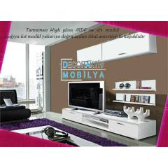 DECORAKTİV EKO 5 TV SEHPA TV ÜNİTESİ DVD BÖLMELİ