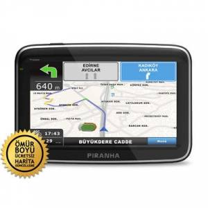 Piranha Trooper 5.0in� HD GPS Navigasyon Sistemi