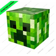 Minecraft Creeper Maskesi.