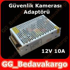 GÜVENLİK KAMERASI ADAPTÖRÜ POWER SWİTCH 12V 10A